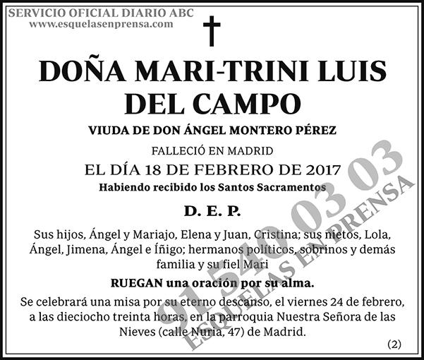 Mari-Trini Luis del Campo